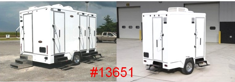 large portable restroom trailer rentals