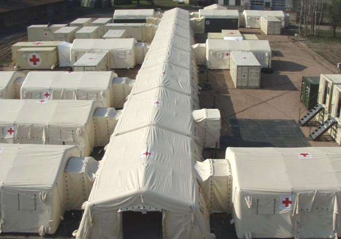 Temporary Field Hospital Structures