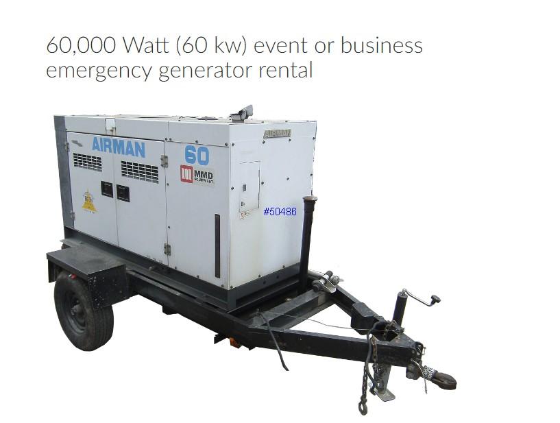 Large Generator Rentals