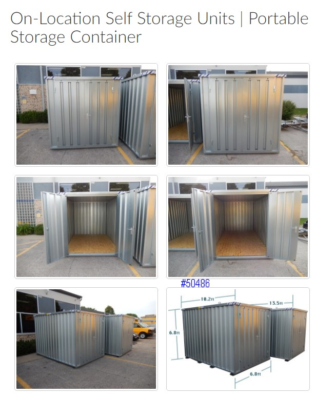 all sizes storage container rentals